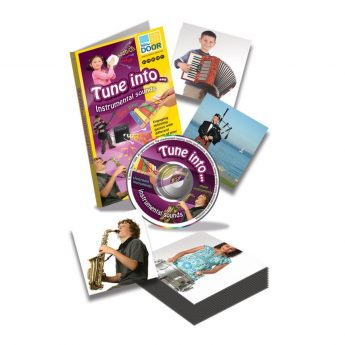 Tune into… Instrumental Sounds - 30 instruments on audio CD to match to clear color photos
