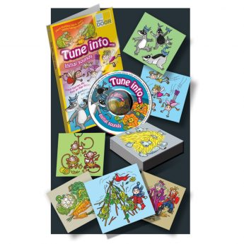Tune into… Initial Sounds covers the full alphabet, with 26 illustrations and audio CD