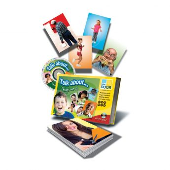 Talk about… Things we Do - 30 photo cards showing verbs
