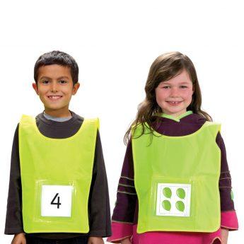 Children's vest with pocket