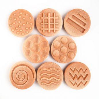 "Sensory Stones - 8 tactile stones (3"")"