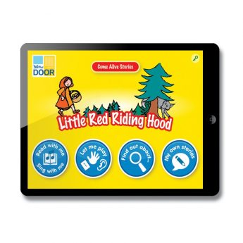 Little Red Riding Hood Interactive Story and games app