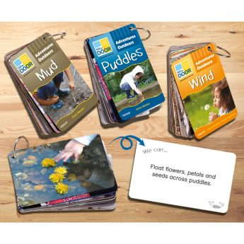 Inspiration cards to promote outdoor learning