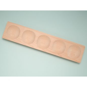 """5-frame wooden tray (15"""" x 3"""" x 1"""")"""